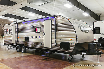 New 2018 27RR Limited Light Lite Slide Out Toy Hauler Travel Trailer Never Used