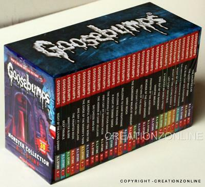 Goosebumps Classic Collection by R. L. Stine - 30 Book Box Set (NEW & SEALED)