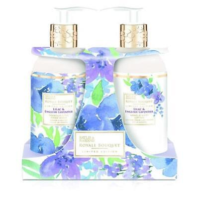 Baylis and Harding Lilac and English Lavender Hand Twin Set