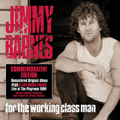 Jimmy Barnes For The Working Class Man Commemorative Edition 2-disc FREE POST