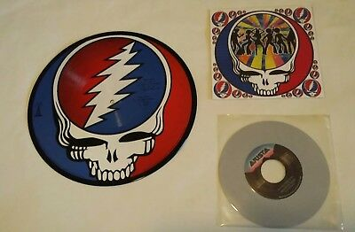 "GRATEFUL DEAD Picture Disc LP With BONUS 7"" Single Touch of Grey on GREY VINYL!!"