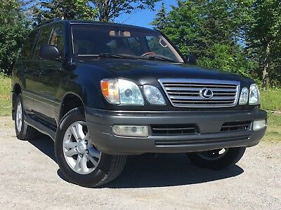 2003 Lexus LX LX470 2003 Lexus LX470 Navigation Loaded Mark Levinson Sound Seats 7 Passengers Export