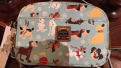 2017 Dooney & Bourke Disney Dogs Crossbody Ambler Purse Stitch Lady Pluto NWT