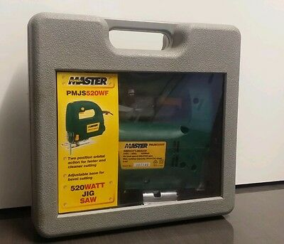 "POWER MASTER 520W Jig Saw PMJS520WF  ""NEW NEVER USED"""