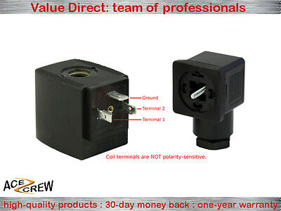 Solenoid Coil 110V-120V AC VAC for Ace Crew Brass Normally Closed Electric Valve