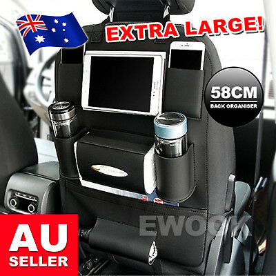 OZ New Waterproof Travel Car Seat Back Organiser iPad Holder Foldable Table Desk
