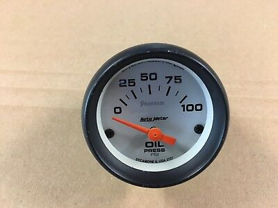 Phantom Auto Meter oil pressure gauge