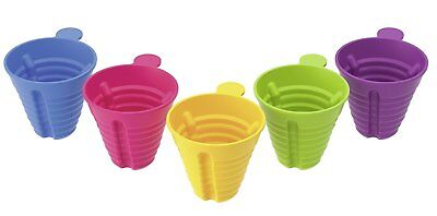 5 x Sports Drink/Baby Bottle Multi Size Funnels to Fit Most Bottles