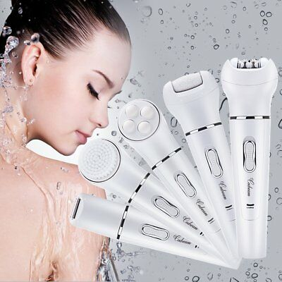 Codream Electric Hair Removal Epilator 5 in 1 Lady Shaver Callus Remover Face