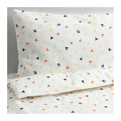 Baby Infant Children Quilt Cover and Pillow case Set for Cot Bedding BRAND NEW