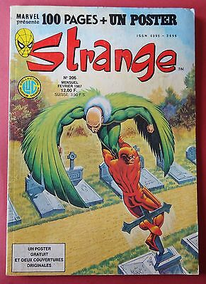strange n° 206  - Collection lug marvel - 1987
