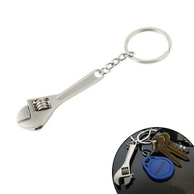 Mini Metal Adjustable Creative Tool Wrench Spanner Key Chain Ring