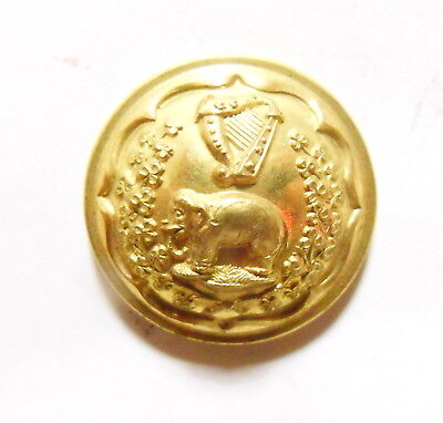 The Connaught Rangers Officer's Tunic Button 1881-1894