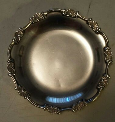 Heavy (107 Grams) Sterling Silver Small Candy Dish(?) - 2 Tiny Dents