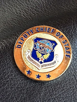 Authentic USAF # 583 Deputy Chief of Staff Coin -271