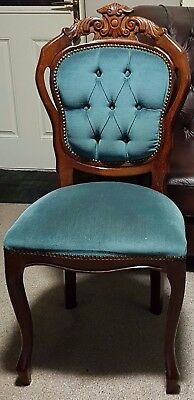 Louis XV1 style chair in Oak Dining, Bedroom, Dressing Table, Reproduction
