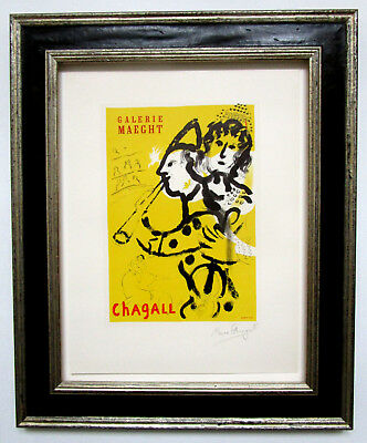 Marc Chagall * The Clown Musician * Handsigniert / Coa ! Weihnachtsauktion 1€ !