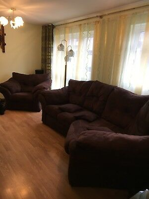 Florida 4 Seaters Cozy Corner Sofa And Chair