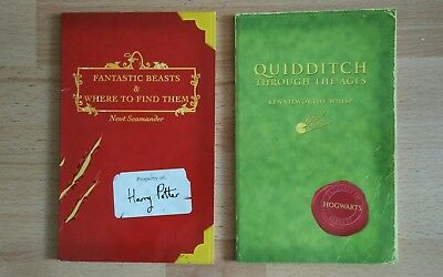 Comic Relief: Fantastic Beasts & Quidditch Through (Harry Potter's Schoolbooks)