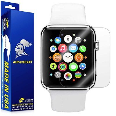 Armor Suit Military Shield Apple Watch Series 2 HD Screen Protector 2 Pack 38mm