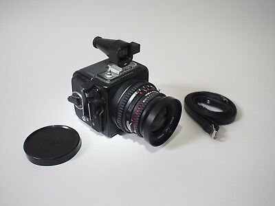 HASSELBLAD SWC WITH 38mm f/4 5 T* Biogon in Black Excellent+ Condition, A12  back