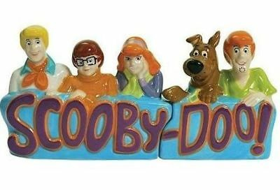 Scooby-Doo and Gang Ceramic Salt & Pepper Shakers NEW! Perfect Gift!