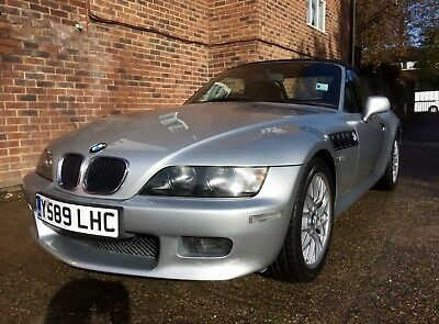 2001(Y) BMW Z3 2.2i Roadster, Titan Silver, only 72,000 miles - BEAUTIFUL