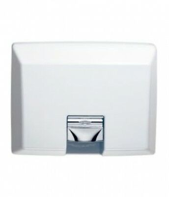 Bobrick Aircraft B750 Recessed Hand Dryer in White - Hand Dryers