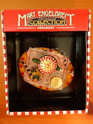 Mary Engelbreit Christmas Collection Ornament Tea and Cookies