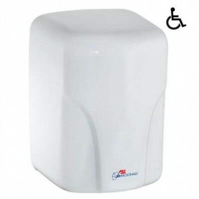 Jd Macdonald Turbo-Dri  High Velocity Automatic Hand Dryer White