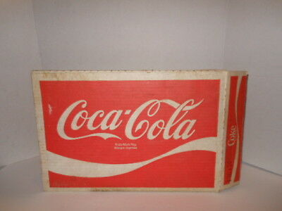 VINTAGE COCA-COLA CASE AND 22 CANS (should be 24 cans but only has 22 cans)