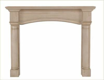 "The Princeton 56"" Fireplace Mantel - Unfinished"