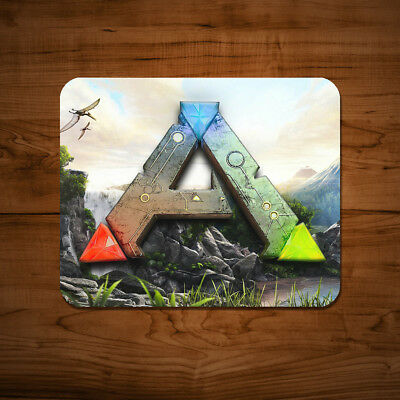 Ark Survival Evolved A Symbol Mouse Mat Mac PC Gaming Game Laptop Desk Pad UK