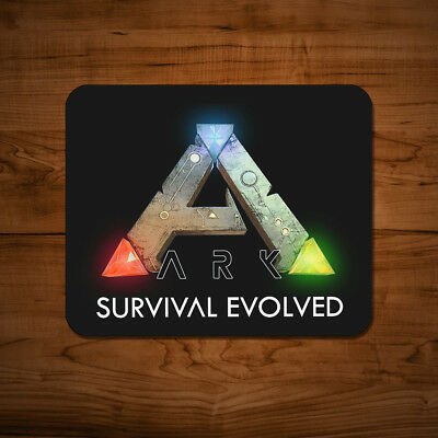 Ark Survival Evolved Logo Mouse Mat Mac PC Gaming Game Laptop Desk Pad UK