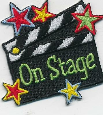 Girl Boy Cub ON STAGE Fun Patches Crest Badges SCOUT GUIDE visit performance