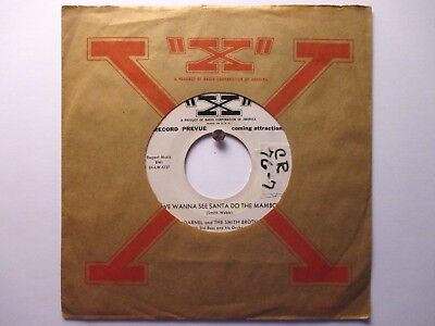 Bill Darnel & the Smith Brothers X 67 Promo Santa Do the Mambo Calypso Christmas