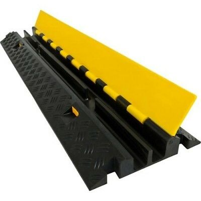1m 2channel 5t load Cable Cover Guard Protector Ramp Tray Rubber Guards