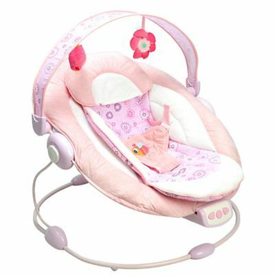 Baby Rocking Swing Bouncer Chair Cradle Rocker Seat Bouncy Cradling with Music#
