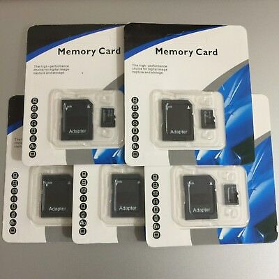 32GB/64GB/128GB/256GB/512GB Micro SD SDXC SDHC Flash TF Memory Card Class 10 LOT