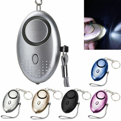 Police Approved Personal Safety Alarm Keychain Security Panic Rape Attack Torch
