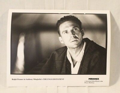 Set Of 15 English Patient Lobby Cards B&w 1996 Academy Award Best Picture