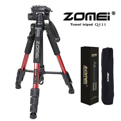 Professional Heavy Duty Aluminium Tripod Zomei Q111 Pan Head for DSLR Camera BP