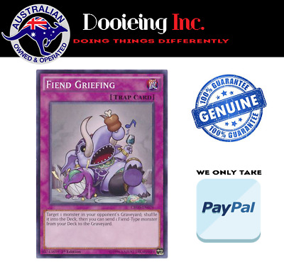 Yu-Gi-Oh - Fiend Griefing - CROS-EN076 - Common - 1st Edition
