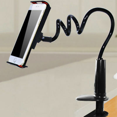 Flexible 360º Lazy Bed Gooseneck Desk Mount Stand Holder For iPad Android Tablet