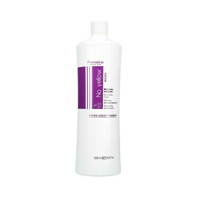 FANOLA NO YELLOW Neutralisierende Maske für blondes Haar 1000ml