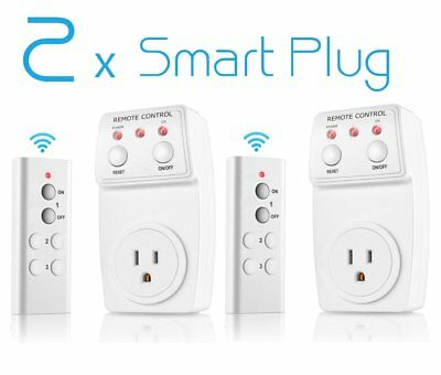 4pc Wireless Remote Control Power Outlet Light Lamp Switch Plug In