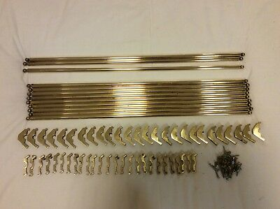 13x Brass Stair Rods. 27 inch or 69 cm
