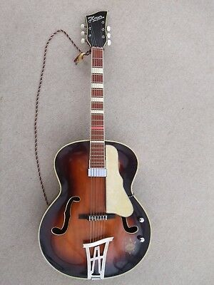 Guitar:Hoyer :Vintage 1950s:Archtop:Electro-acoustic:Good condition.