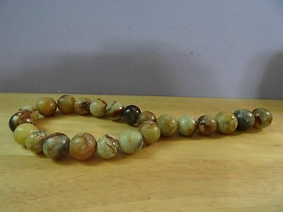 Carnelian Agate old big beads antique lovely patina amazing colors