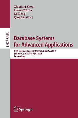 Database Systems for Advanced Applications  Lecture Notes in Computer Science